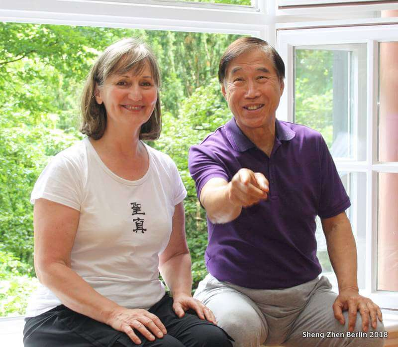 Master Li and Gaby Schroeder
